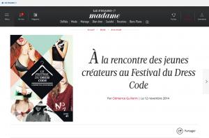 À la rencontre des jeunes créateurs au Festival du Dress Code Le Figaro Madame