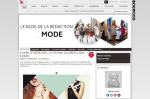 A faire ce week end le Festival du Dress Code à Paris Rédaction Mode Blog Be.com