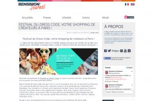 BENSIMON ® Le BLOG Festival du Dress Code votre shopping de créateurs à Paris Bensimon le Blog ®