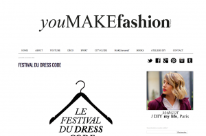 Blog Mode DIY Youmakefashion.fr Margot FESTIVAL DU DRESS CODE