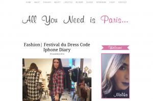 Fashion Festival du Dress Code Iphone Diary All you need is Paris All you need is Paris