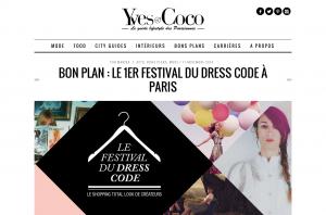 Le Festival du Dress Code à Paris