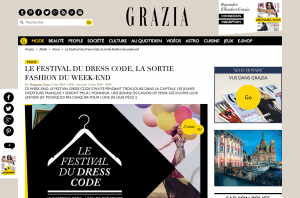 Le Festival du Dress Code la sortie fashion du week end Grazia
